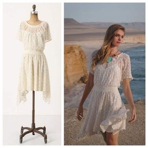 Anthropologie Leifnotes Sequined Embroidered Gown